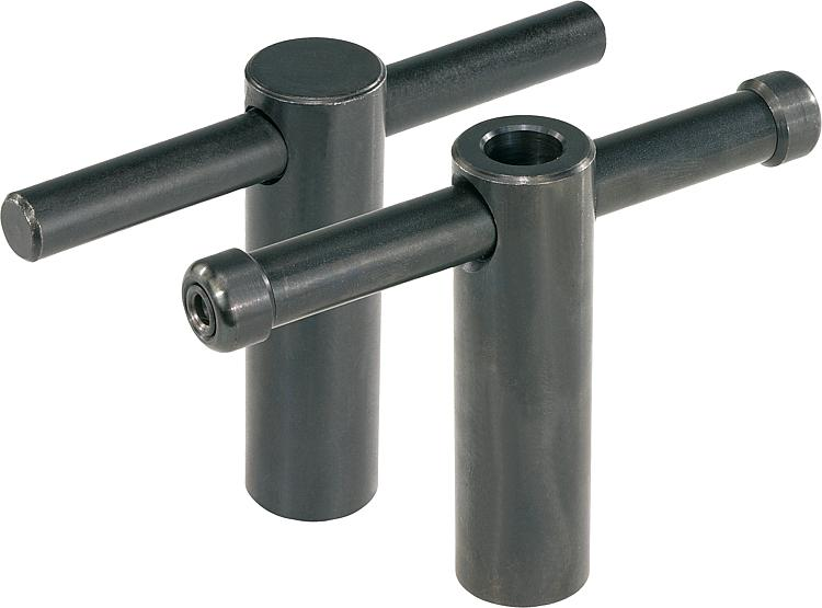 Kipp Tommy Bars With Fixed Or Sliding T Bar Din 6305 Or
