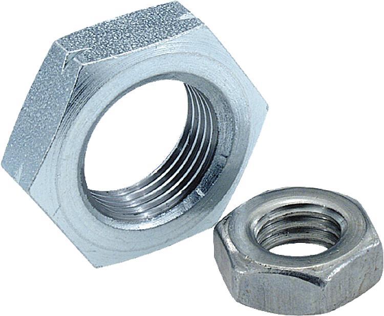 KIPP - Hexagon nuts thin DIN 439