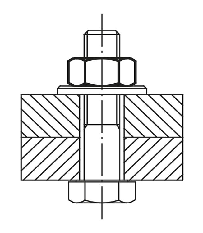 KIPP - Hexagon nuts DIN 934/DIN EN ISO 4032/DIN EN 24032