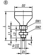 Indexing plunger with status sensor, Form B