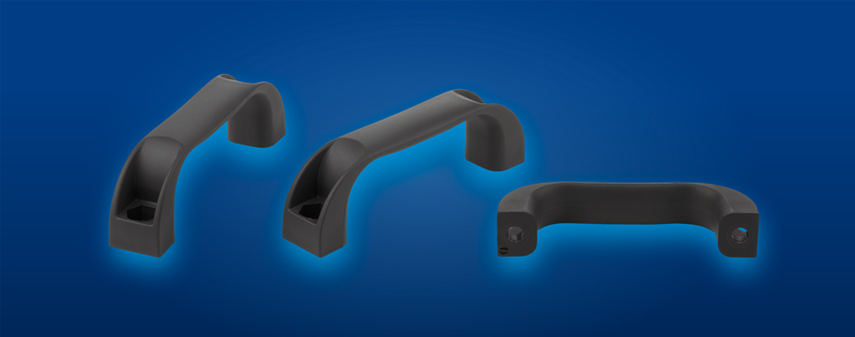Thermoplastic heat resistant pull handles